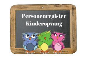 Personenregister Kinderopvang